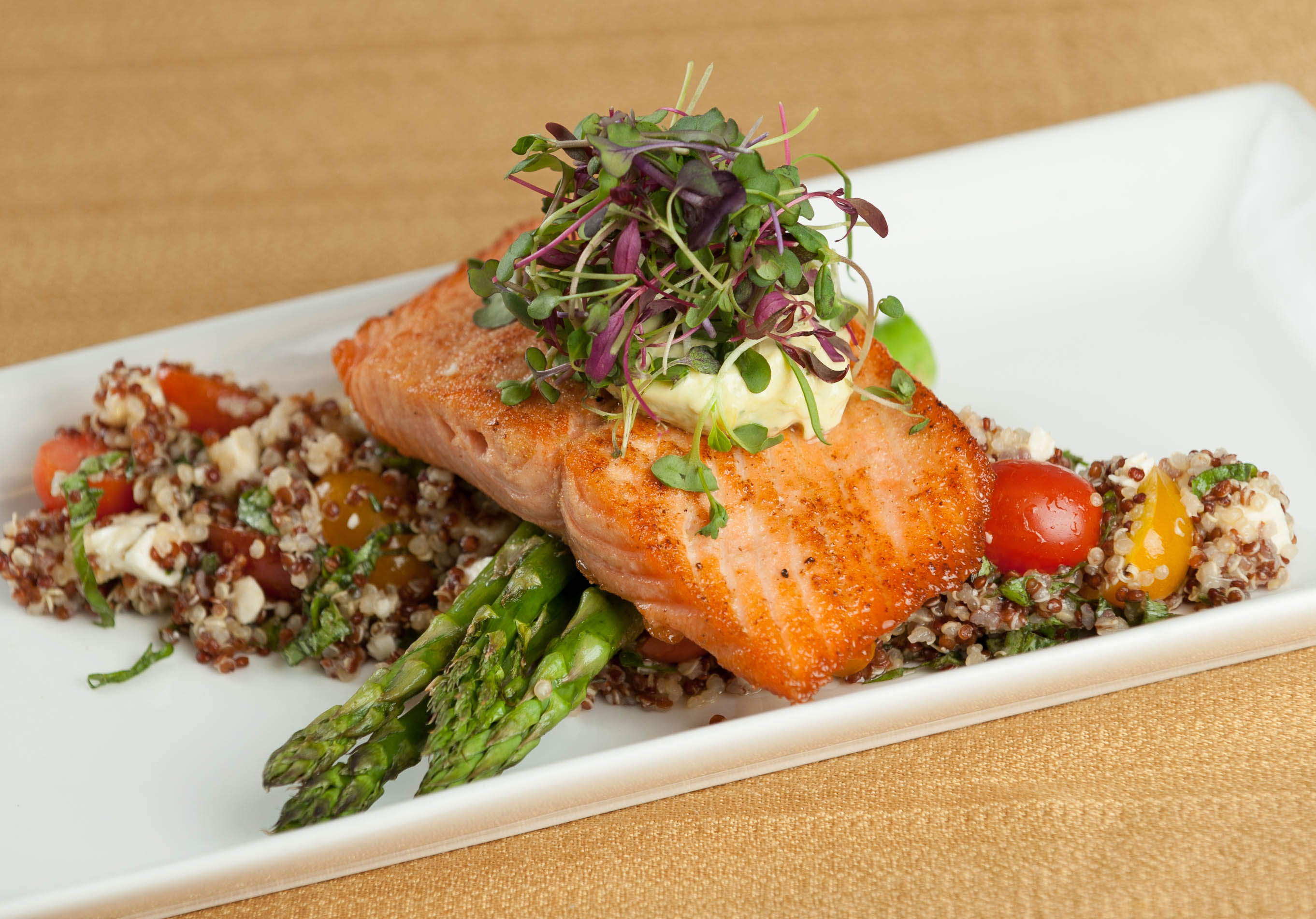 Infinity Events and Catering's Ginger Salmon